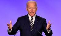 อดีตรองประธานาธิบดี โจ ไบเดน เป็นตัวเต็งของพรรคเดโมแครตในการเลือกตั้งประธานาธิบดีสหรัฐปี 2020