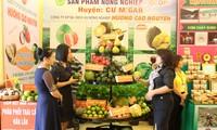 งานแสดงสินค้าการเกษตรและผลิตภัณฑ์ OCOP เขตเตยเงวียน