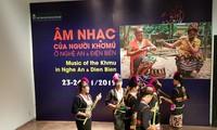 รายการแสดงดนตรีที่เต็มไปด้วยเอกลักษณ์วัฒนธรรมของชนกลุ่มน้อยเผ่าขมุ ณ กรุงฮานอย