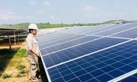 สนับสนุนเวียดนามระดมเงินทุนจากภาคเอกชนให้แก่การประมูลสร้างโรงไฟฟ้าพลังงานแสงอาทิตย์เป็นการนำร่อง