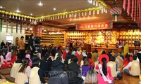ชาวพุทธเวียดนามในประเทศสาธารณรัฐเกาหลีจัดพิธีต้อนรับปีใหม่