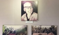 อนุสรณ์สถานประธานโฮจิมินห์ในแขวงคำม่วน ประเทศลาว สายสัมพันธ์ความสามัคคีลาว – เวียดนาม