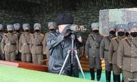 สาธารณรัฐประชาธิปไตยประชาชนเกาหลียืนยันทำการฝึกซ้อมยิงปืนใหญ่พิสัยไกล
