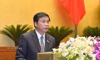สภาแห่งชาติอนุมัติมติหลายฉบับในวันปิดการประชุม