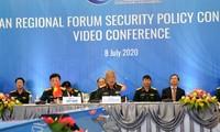 อาเซียนและหุ้นส่วนส่งเสริมความไว้วางใจและการสร้างระเบียบการของภูมิภาคบนพื้นฐานกฎหมาย