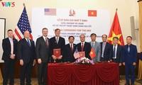 สหรัฐและเวียดนามขยายความสัมพันธ์หุ้นส่วนเกี่ยวกับการแก้ไขผลเสียหายจากสงคราม