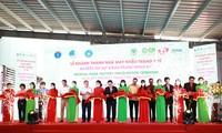 """พิธีเปิดโรงงานผลิตหน้ากากอนามัย CP Vietnamและโครงการ""""หน้ากากแห่งความเมตตา"""""""