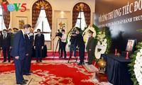 ผู้นำประเทศต่างๆและเพื่อนมิตรนานาชาติร่วมไว้อาลัยอดีตเลขาธิการใหญ่พรรค เลขาเฟียว