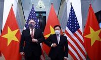 การเจรจาระหว่างรัฐมนตรีต่างประเทศเวียดนามและสหรัฐ