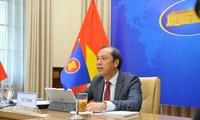 ค้ำประกันบทบาทการเป็นศูนย์กลางและภาพรวมความสัมพันธ์การต่างประเทศของอาเซียน