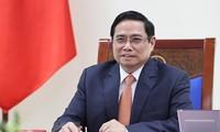 นายกรัฐมนตรี ฝ่ามมิงห์ชิ้ง เข้าร่วมการประชุมผู้นำอาเซียน