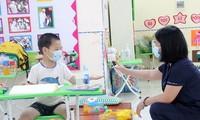 ปกป้องเด็กจากภัยธรรมชาติและโรคระบาด สนับสนุนเด็กที่ต้องกักตัวเพื่อป้องกันการแพร่ระบาดของโรคโควิด -19