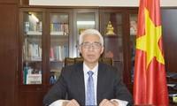 ความสัมพันธ์ระหว่างเวียดนามกับจีนยังคงพัฒนาอย่างน่ายินดี