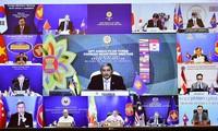 การประชุมรัฐมนตรีต่างประเทศอาเซียน+3 หารือเกี่ยวกับการขยายความร่วมมือเพื่อป้องกันโควิด - 19