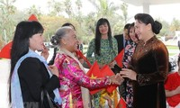NA Chairwoman meets Vietnamese community in Morocco
