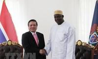 Vietnamese Ambassador presents credentials to Gambian President