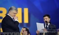 Comedian Volodymyr Zelenskiy set to win Ukraine election