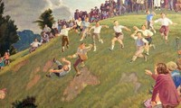 Cheese rolling race of England