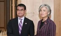 Japan, South Korea need dialogue to resolve wartime labor feud