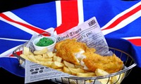 Fish and chips, the most English dish of all