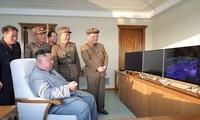 North Korea tests multiple rocket launcher