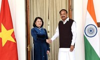 Vice President meets her Indian counterpart