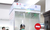 Ho Chi Minh city introduces quick sanitizing booth