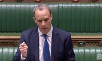 UK suspends Hong Kong extradition treaty