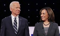 Biden, Harris appear together for 1st time as running mates