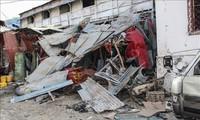 Car bomb blast kills at least 20 people in Somalia