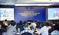 ARF workshop discusses regional cooperation in maritime law enforcement