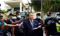 North Korean diplomats leave Malaysia after ties cut over US extradition row