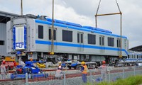 Two more metro trains to arrive in HCMC next week
