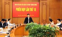 Chủ tịch nước chủ trì phiên họp Ban Cải cách Tư pháp