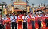 Khánh thành Đền thờ tưởng niệm các Anh hùng Liệt sĩ Thanh niên xung phong