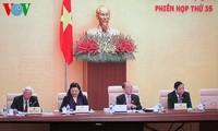 Ủy ban Thường vụ Quốc hội cho ý kiến Dự án Luật bầu cử đại biểu Quốc hội và Hội đồng nhân dân