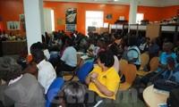 Sinh viên Việt Nam tại Mozambique quảng bá hình ảnh về đất nước