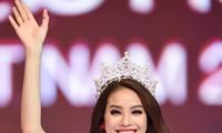 Phạm Thị Hương đăng quang Hoa hậu Hoàn vũ Việt Nam