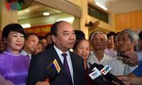 Thủ tướng Nguyễn Xuân Phúc bỏ phiếu bầu cử tại Vĩnh Bảo, Hải Phòng