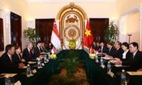 Thúc đẩy hơn nữa quan hệ đối tác chiến lược ViệtNam – Singapore