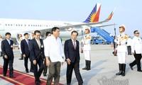 Tổng thống Cộng hòa Philippines bắt đầu thăm chính thức Việt Nam