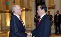 Việt Nam-Peru thúc đẩy hợp tác trên tất cả các lĩnh vực, đặc biệt là về viễn thông và dầu khí