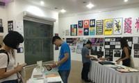 Triển lãm Nghệ thuật Đồ họa Chữ quốc tế tại Việt Nam