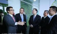 Phó Thủ tướng Vũ Đức Đam dự lễ khai trương Trung tâm đổi mới sáng tạo của Tập đoàn công nghệ CMC