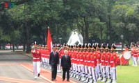 Tổng thống Indonesia Joko Widodo tổ chức trọng thể Lễ đón chính thức Tổng Bí thư Nguyễn Phú Trọng