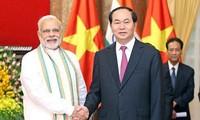 Thúc đẩy quan hệ hợp tác chiến lược toàn diện Việt Nam-Ấn Độ