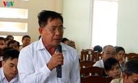 Chủ tịch Ủy ban Trung ương Mặt trận Tổ quốc Việt Nam, Trần Thanh Mẫn, tiếp xúc cử tri tại TP Cần Thơ