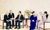 Nhà vua và Hoàng hậu Nhật Bản coi trọng và ủng hộ quan hệ hợp tác hữu nghị Việt Nam - Nhật Bản
