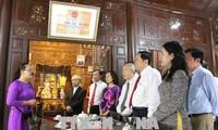 Chủ tịch Ủy ban TW MTTQ Việt Nam Trần Thanh Mẫn làm việc tại tỉnh An Giang