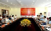 Chủ tịch Ủy ban Trung ương MTTQ Việt Nam Trần Thanh Mẫn làm việc với Cục Hải quan Quảng Ninh
